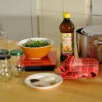 Das Rezepzt ist simpel und man benötigt wenig Utensilien für die Zubereitung.