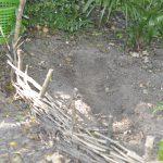 Jeder Centimeter in die Tiefe ist eine anstrengende Sache: trockener, ausgelaugter Boden und Wurzelwerk wirken erschwerend.