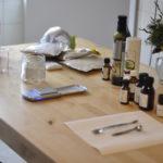Hier mein Setting für die Herstellung der Spülung.