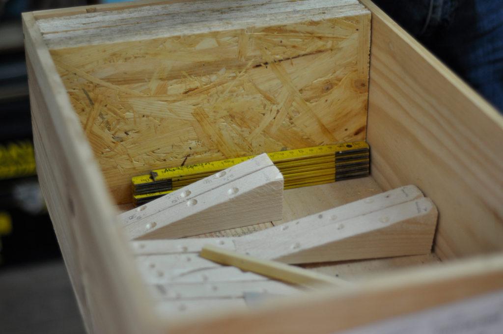 Wildbienenhaus gemeinsam bauen 14
