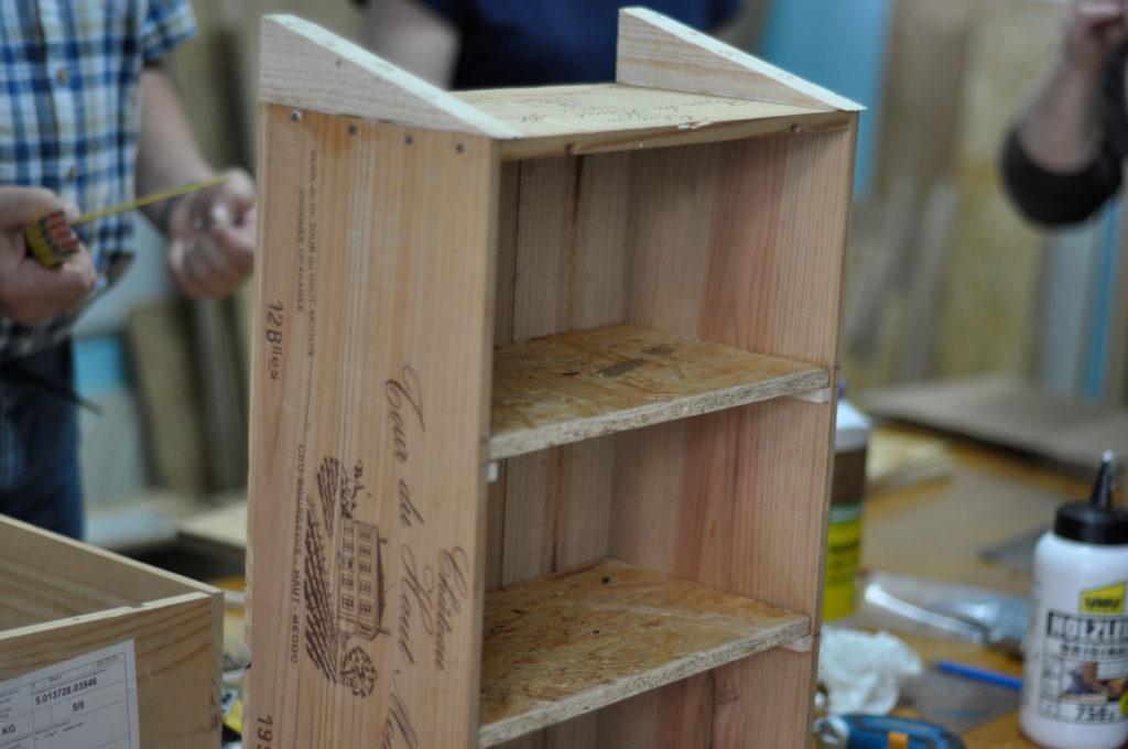 Wildbienenhaus gemeinsam bauen 15