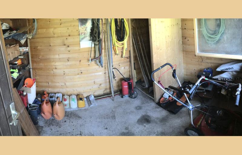 Alte Gartengeräte und ein verlorener Schlüssel 2
